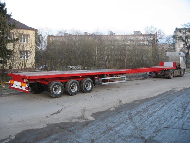Продаем полуприцеп для перевозки опор СК-22 и СК- 26