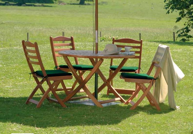 Стол и стулья на дачу