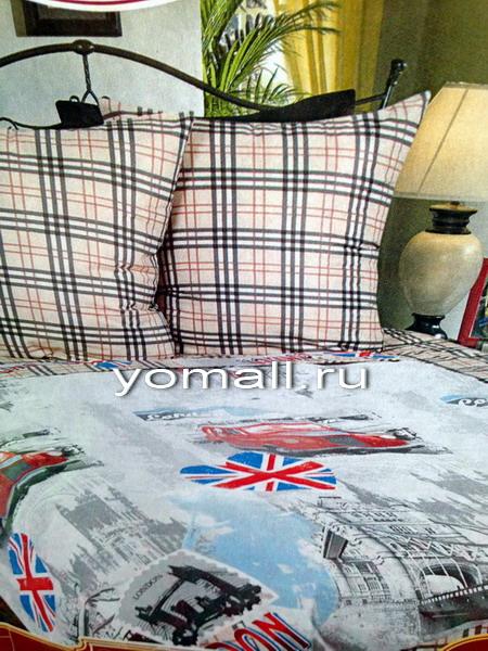 Постельное белье Лондон LOVE, комплект постельного белья Англия в интернет-магаз