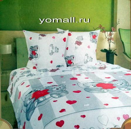 Детское постельное белье медвежата с любовью Медвежонок в магазине емолл
