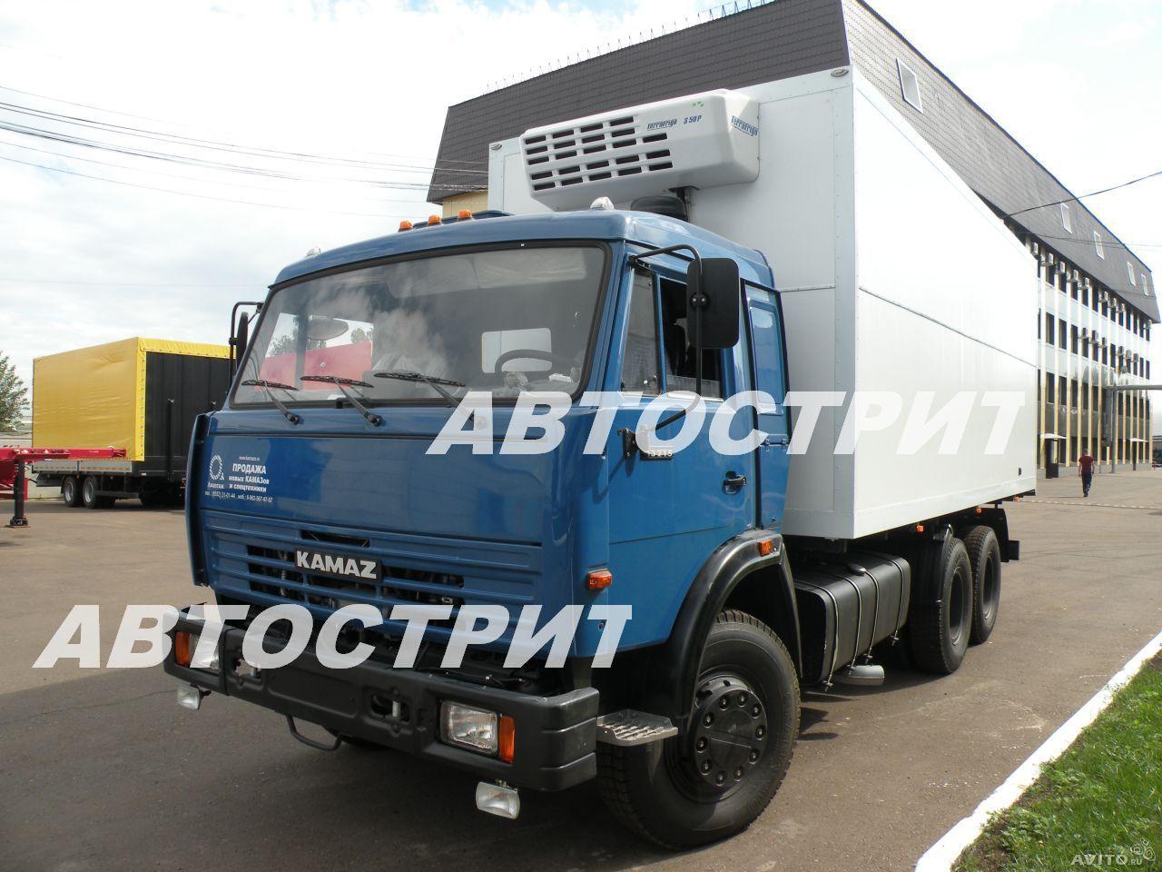 Изотермический фургон V-40м3