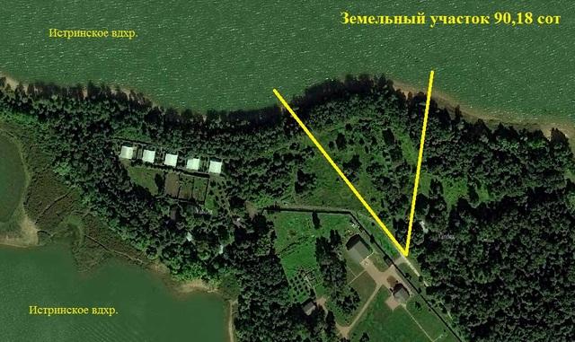 Земельный участок Поселок премиум класса Новое Раково