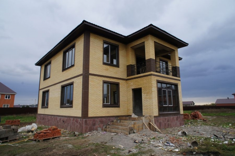 Строительство домов из кирпича в Краснод