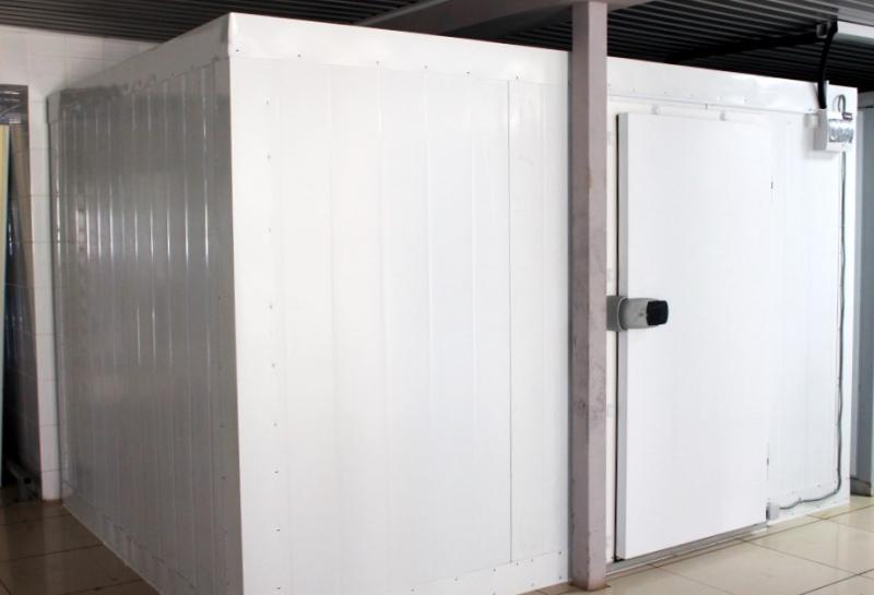 Сборные холодильные камеры под ключ