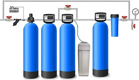Установка водоочистки под ключ с гарантией 5 лет