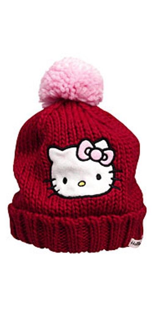 Зимняя шапка Kitty ТМ HM для девочки