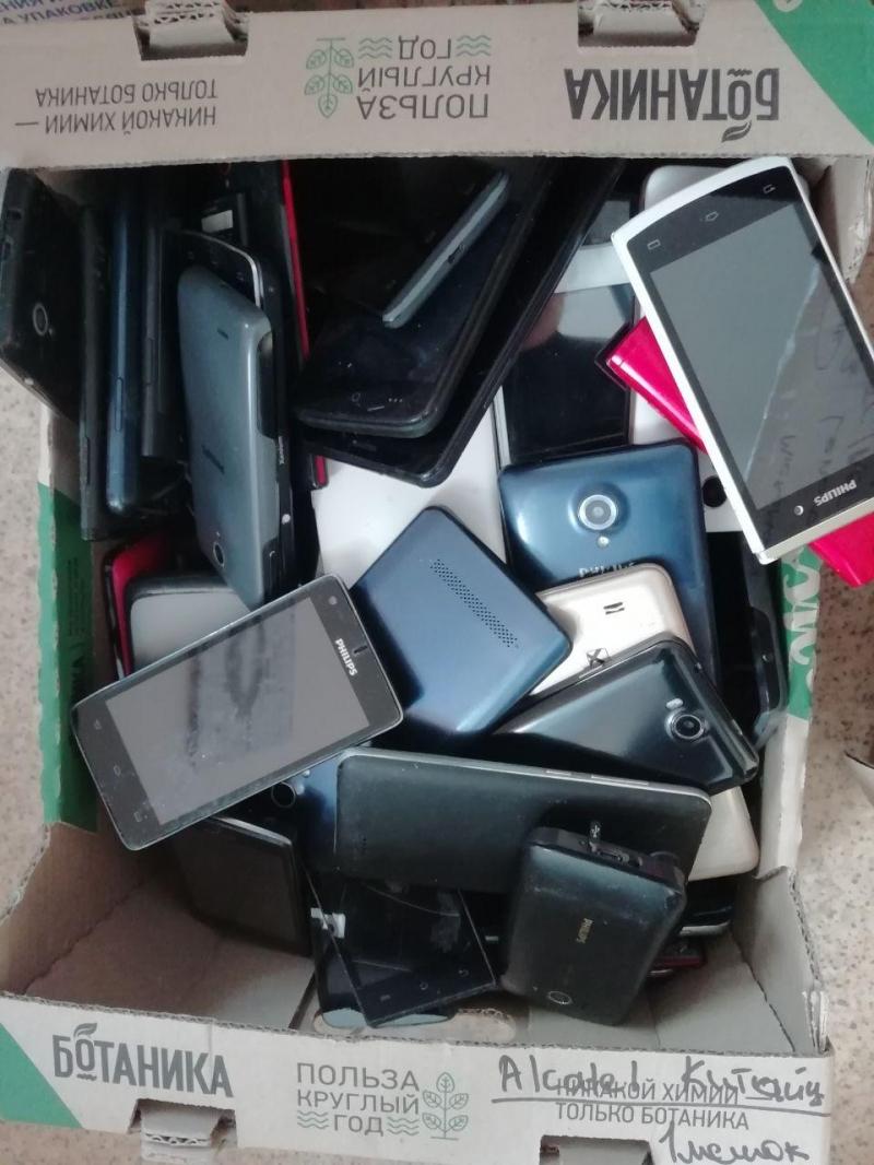 Смартфоны на запчасти